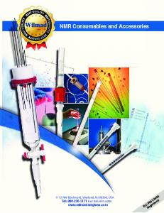 NMR Consumables and Accessories