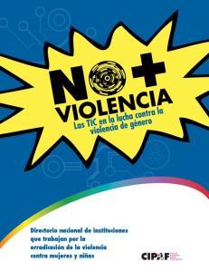 NO A LA VIOLENCIA CONTRA LAS MUJERES!