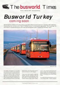 No February Busworld Turkey
