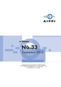 No.33. December e-news