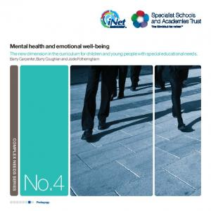 No.4. Mental health and emotional well-being