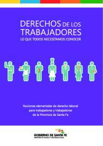 Nociones elementales de derecho laboral para trabajadores y trabajadoras de la Provincia de Santa Fe