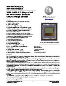 NOIV1SN2000A, NOIV2SN2000A VITA Megapixel 92 FPS Global Shutter CMOS Image Sensor