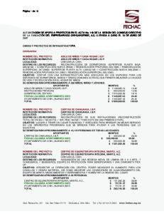 NOMBRE DEL PROYECTO: CENTRO DE EQUINOTERAPIA INTEGRAL MANTO, A.C. INSTITUCIÓN NORMATIVA: CENTRO DE EQUINOTERAPIA INTEGRAL MANTO, A.C
