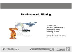 Non-Parametric Filtering