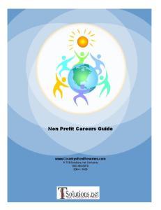 Non Profit Careers Guide