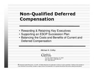 Non-Qualified Deferred Compensation
