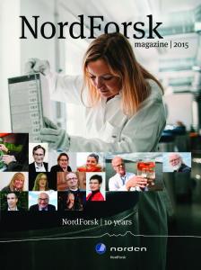 NordForsk 10 years. magazine 2015