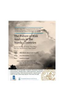 Nordic Chapter Risk Conference - program