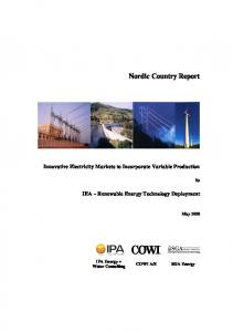 Nordic Country Report