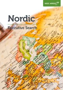 Nordic. Executive Search. page 1