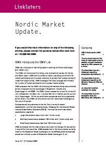 Nordic Market Update