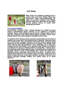 Nordic Walking Co to jest Nordic Walking?