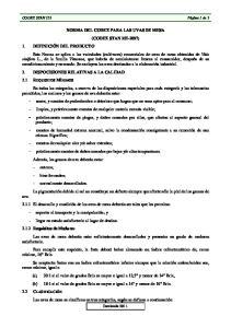 NORMA DEL CODEX PARA LAS UVAS DE MESA (CODEX STAN )