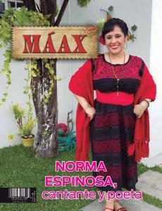 Norma Espinosa, cantante y poeta