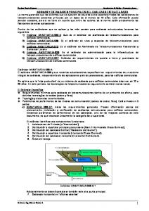 NORMAS Y ESTANDARES PRINCIPALES DEL CABLEADO ESTRUCTURADO