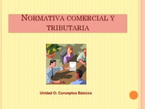 NORMATIVA COMERCIAL Y
