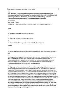 Normenketten: StVG 3 Abs. 3 Satz 1 FeV 46 Abs. 1 Satz 1 und Abs. 2 Satz 1, 11 Abs. 3 Satz 1 Nr. 1, Anlage 4a zu 11 Abs. 5
