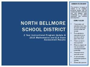 NORTH BELLMORE SCHOOL DISTRICT