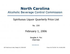 North Carolina Alcoholic Beverage Control Commission