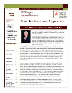 North Carolina Appraiser