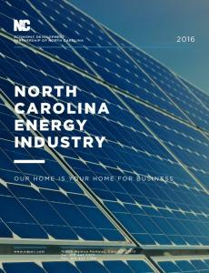 NORTH CAROLINA ENERGY INDUSTRY