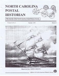 NORTH CAROLINA POSTAL HISTORIAN