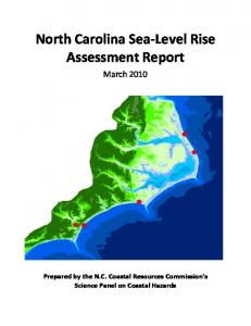 North Carolina Sea-Level Rise Assessment Report