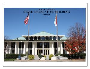 NORTH CAROLINA STATE LEGISLATIVE BUILDING RALEIGH