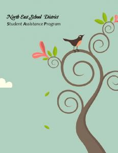 North East School District. Student Assistance Program