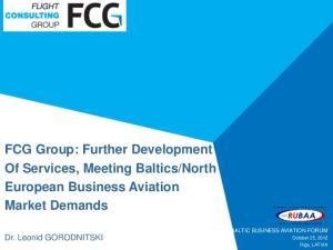 North European Business Aviation Market Demands