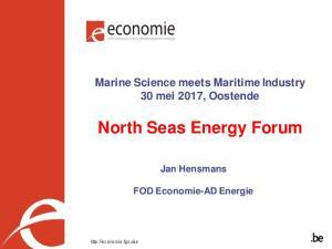 North Seas Energy Forum