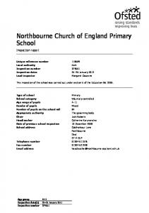 Northbourne Church of England Primary School