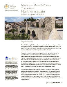 Northern Spain October 29 November 8, 2015