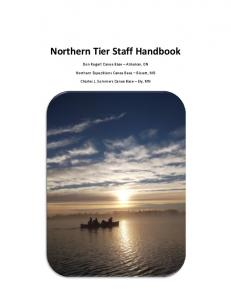 Northern Tier Staff Handbook
