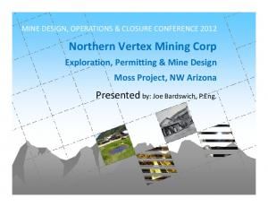 Northern Vertex Mining Corp