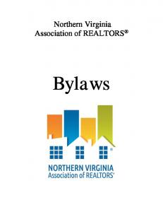 Northern Virginia Association of REALTORS. Bylaws