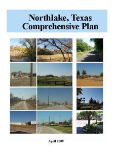 Northlake, Texas Comprehensive Plan