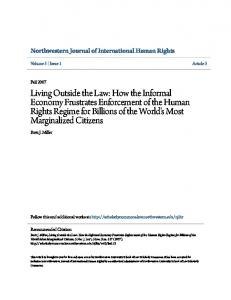 Northwestern Journal of International Human Rights