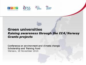 Norway Grants projects