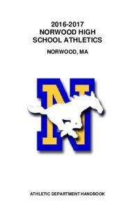 NORWOOD HIGH SCHOOL ATHLETICS