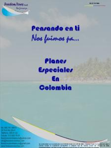 Nos fuimos pa. Pensando en ti. Planes Especiales En Colombia R.N.T.37122
