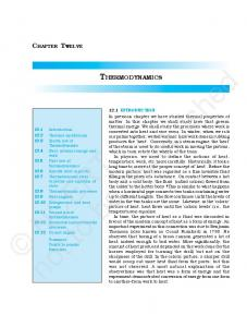 not to be republished NCERT THERMODYNAMICS CHAPTER TWELVE