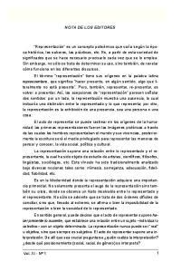 NOTA DE LOS EDITORES