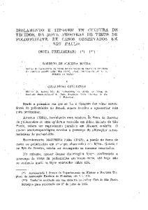 (NOTA PRELIMINAR) (*),(**) ROBERTO DE ALMElDA MOURA