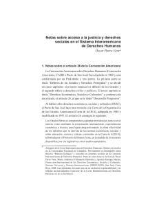 Notas sobre acceso a la justicia y derechos sociales en el Sistema Interamericano de Derechos Humanos