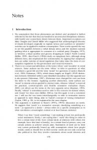 Notes. 1 Introduction