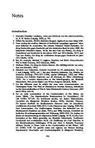 Notes (Goettingen, 1973); Andreas Schulz, Herrschaft durch Verwaltung. Die Rheinbundreformen in Hessen-Darmstadt unter Napoleon (