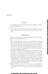 Notes. Preface. 1 Introduction