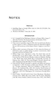 Notes. Preface. Introduction